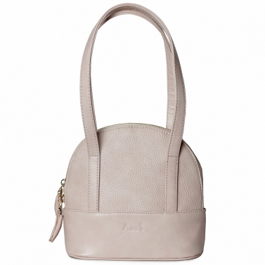 Mini Structured Handbag Pastel Pink